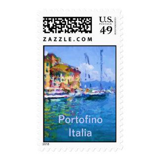 Portofino Postage Stamp