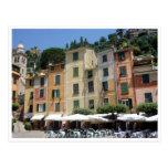 portofino square postcard
