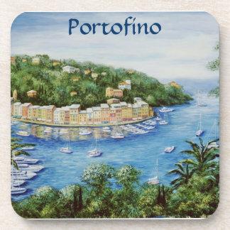 Portofino una visión majestuosa posavasos de bebidas