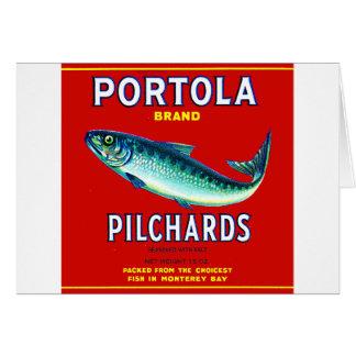 portola2 greeting card