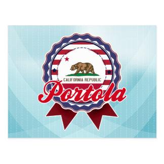 Portola, CA Tarjeta Postal