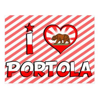 Portola, CA Tarjetas Postales