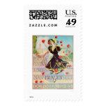 Portola Festival in San Francisco 1909 Stamp