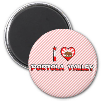 Portola Valley, CA Refrigerator Magnet
