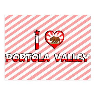 Portola Valley, CA Tarjetas Postales