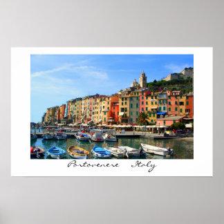 Portovenere  Italy Poster