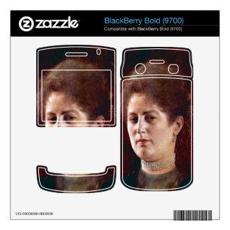 Portrai of a Woman by Gustav Klimt BlackBerry Bold Skins