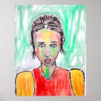 Portrait009 print