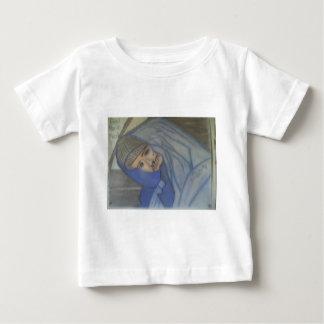 Portrait #3 in Chalk Baby T-Shirt