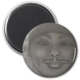 Portrait # 4 of Evan 2 Inch Round Magnet