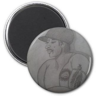 Portrait # 7 of 12 Evan 2 Inch Round Magnet