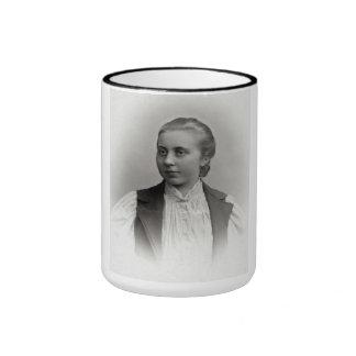 "PORTRAIT ""ALICE"" (1890s) Ringer Coffee Mug"