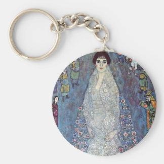 Portrait Baroness Elisabeth Bacchofen Echt, Klimt Keychain