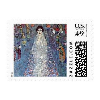 Portrait Baroness Elisabeth Bacchofen Echt, Klimt Postage