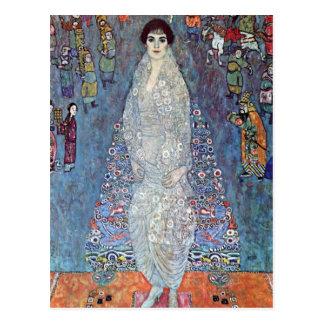 Portrait Baroness Elisabeth Bacchofen Echt, Klimt Postcard