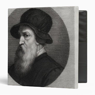 Portrait Benvenuto Cellini  engraved by 3 Ring Binder