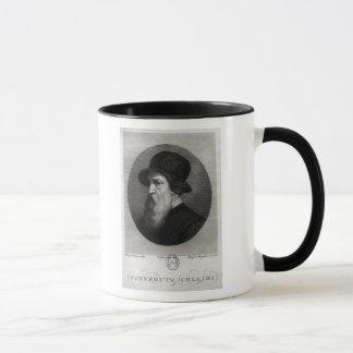 Portrait Benvenuto Cellini  engraved by Mug