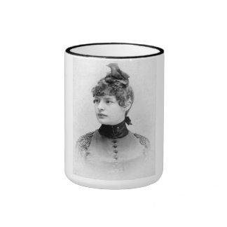 """PORTRAIT """"BERENICE"""" (1900s) Ringer Mug"""