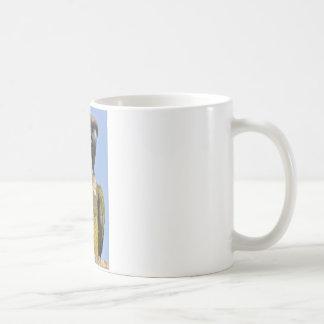 Portrait Burrowing Parrot Coffee Mug