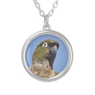 Portrait Burrowing Parrot Pendants