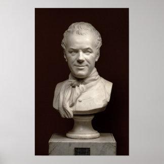 Portrait Bust Etienne Maurice Falconet , 1773 Poster