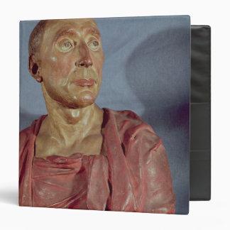 Portrait bust Niccolo da Uzzano 3 Ring Binder