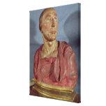 Portrait bust Niccolo da Uzzano Canvas Print