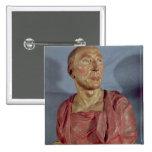 Portrait bust Niccolo da Uzzano Pinback Button