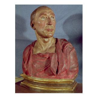 Portrait bust Niccolo da Uzzano Postcard