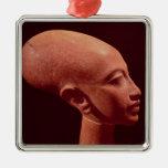 Portrait bust of a daughter of King Akhenaten Christmas Ornaments
