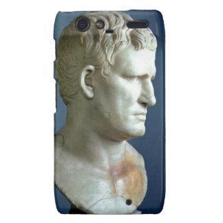Portrait bust of Agrippa 63-12 BC Roman marble Droid RAZR Case