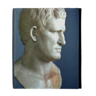 Portrait bust of Agrippa 63-12 BC Roman marble iPad Folio Cases