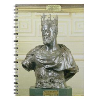 Portrait Bust of Cosimo I de Medici (1519-74) c.15 Notebook