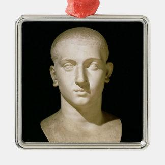 Portrait bust of Emperor Severus Alexander Metal Ornament