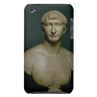 Portrait bust of emperor Trajan (53-117 AD) 1st-2n Barely There iPod Cases
