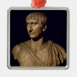 Portrait bust of Emperor Trajan Christmas Tree Ornament