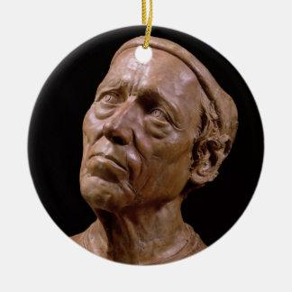 Portrait Bust of Girolamo Benivieni (wax) Ceramic Ornament