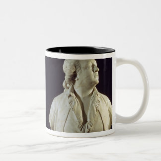 Portrait bust of Giuseppe Balsamo (1743-95), calle Two-Tone Coffee Mug