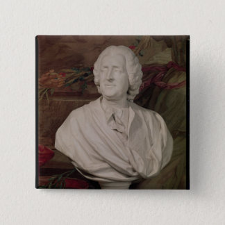 Portrait bust of Jacques-Ange Gabriel Pinback Button