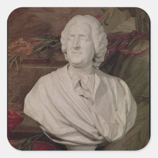 Portrait bust of Jacques-Ange Gabriel Square Sticker
