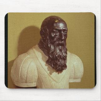 Portrait bust of Jean de Bologna  1608 Mouse Pad