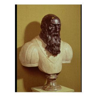 Portrait bust of Jean de Bologna  1608 Postcard
