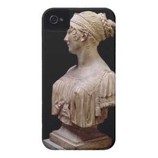 Portrait bust of Jeanne Delhorme, 1802 (terracotta iPhone 4 Covers