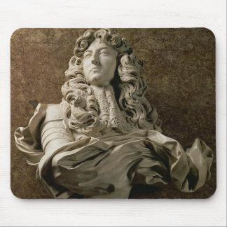 Portrait bust of Louis XIV (1638-1715), 1665, (mar Mouse Pad