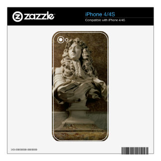 Portrait bust of Louis XIV (1638-1715), 1665, (mar Skins For iPhone 4S
