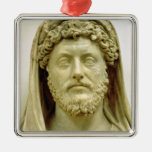 Portrait bust of Marcus Aurelius Metal Ornament