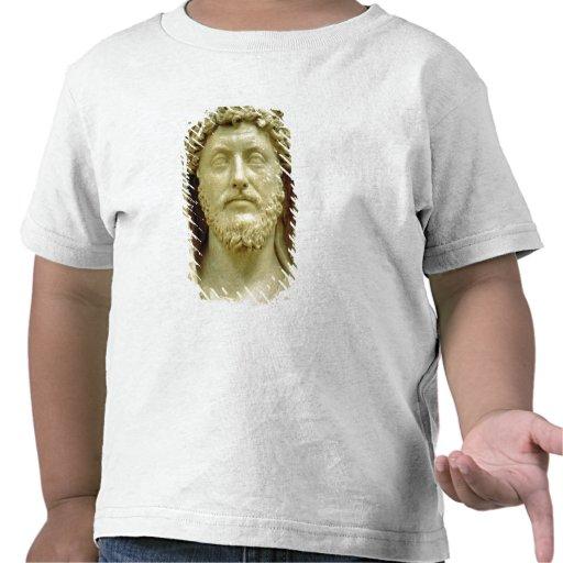 Portrait bust of Marcus Aurelius Tee Shirts