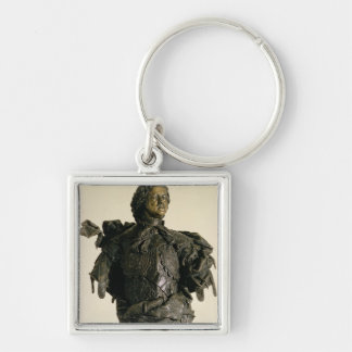 Portrait bust of Peter I , 1723-29 Key Chain