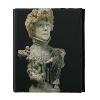 Portrait Bust of Sarah Bernhardt (1844-1923) Frenc iPad Folio Covers
