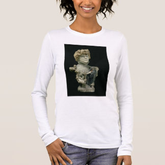 Portrait Bust of Sarah Bernhardt (1844-1923) Frenc Long Sleeve T-Shirt